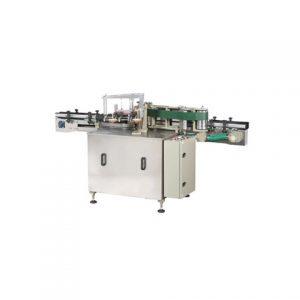 피더가있는 자동 PVC 파우치 백 라벨링 기계