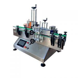 육각형 병 라벨링 기계