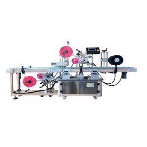 상단 표면 Adheisve 라벨링 기계