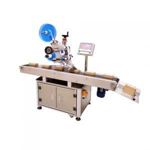라운드 버킷 스티커 라벨링 기계