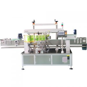 Top Surface Automatic Labeling Machine On Plastic Bag