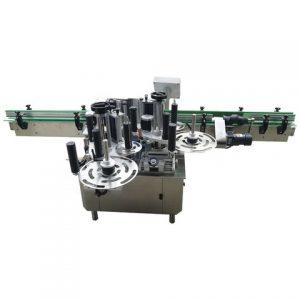 플라스틱 뚜껑 상단 표면 스티커 라벨링 기계