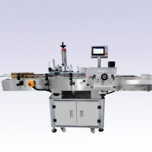Automatic Jars Cup Top Side Surface Labeling Machine