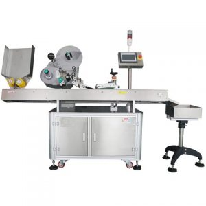 Wine Bottle Labeling And Label Printing Machine