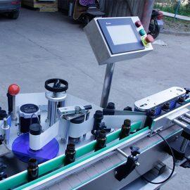 자동 수직 원형 병 스티커 라벨링 기계 세부 정보